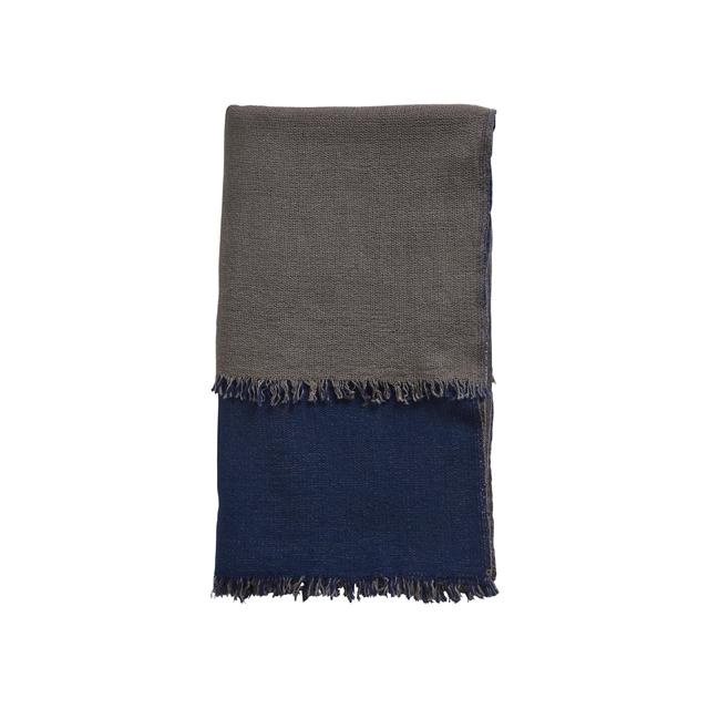 Woud Doppelteppich Blau & Beige