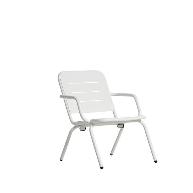 Woud Ray Café Sessel Weiß