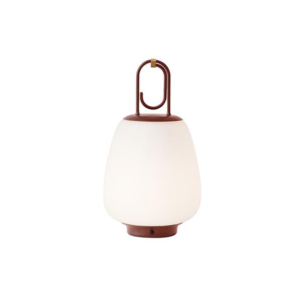 &tradition Lucca SC51 Außenbereichslampe Opalglas & Kastanienbraun