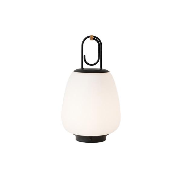 &tradition Lucca SC51 Außenbereichslampe Opalglas & Schwarz