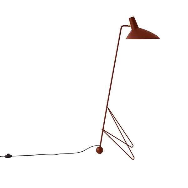 &tradition Tripod HM8 Stehlampe Kastanienbraun