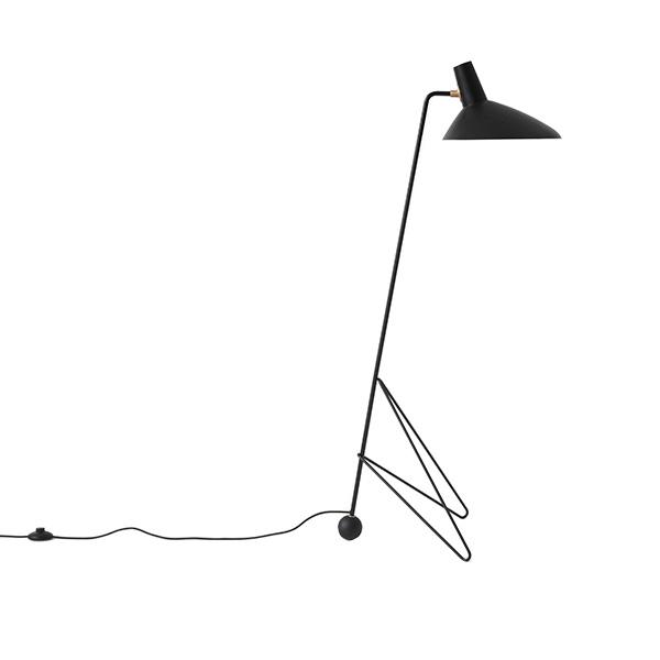 &tradition Tripod HM8 Stehlampe Schwarz
