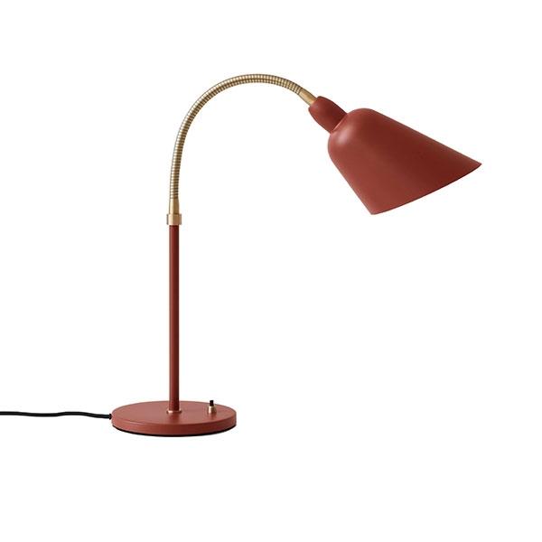 &tradition Bellevue AJ8 Tischlampe Kupferbraun/Messing