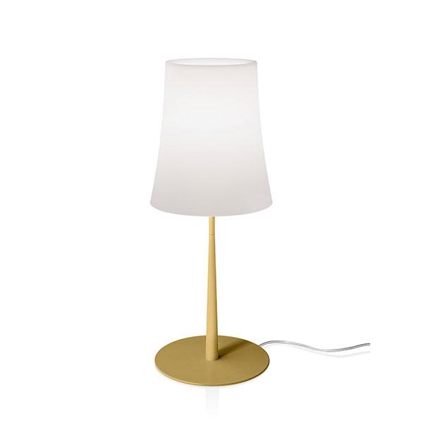 Foscarini Birdie Easy Tischlampe Grande Sand Gelb