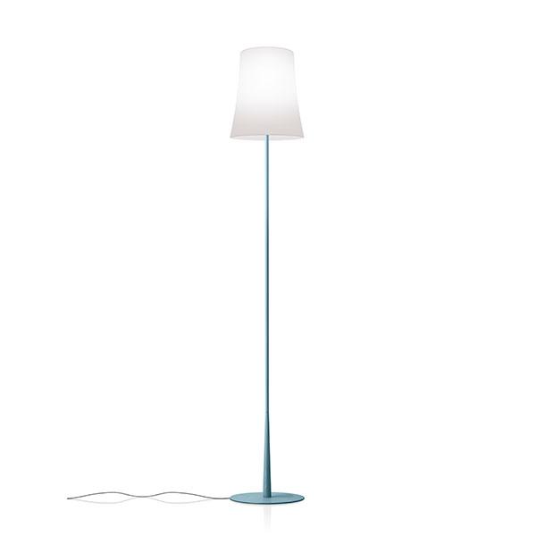Foscarini Birdie Easy Stehlampe Light Blau