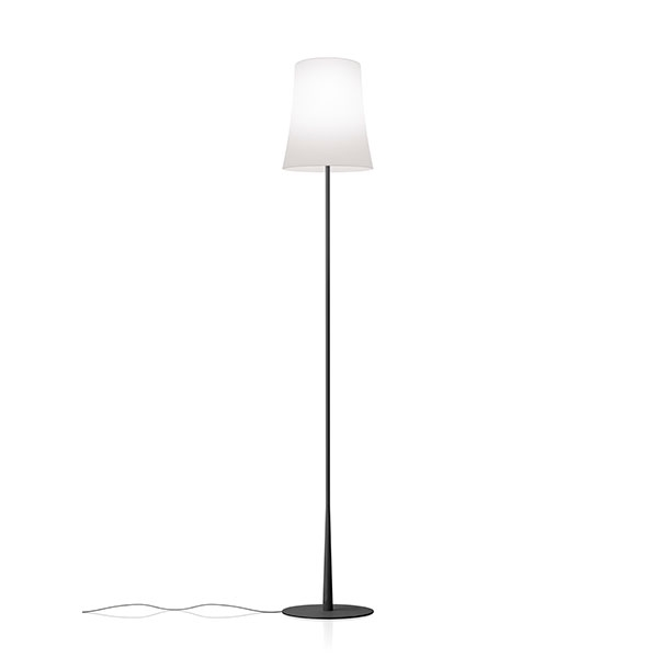 Foscarini Birdie Easy Stehlampe Schwarz