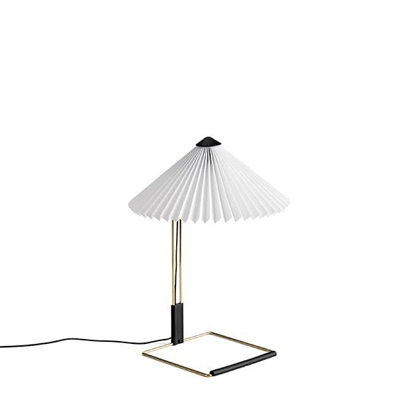HAY Matin Tischlampe Klein Weiß